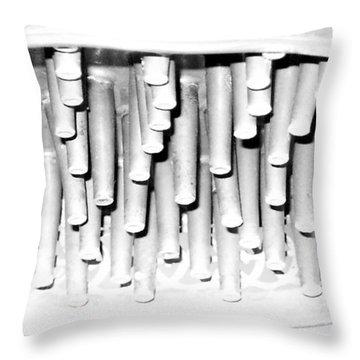 Antique Showerhead Throw Pillow