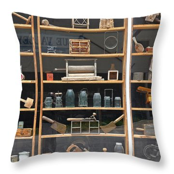 Throw Pillow featuring the photograph Antique Visual by Christopher McKenzie
