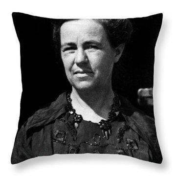 Antonia Maury (1866-1952) Throw Pillow