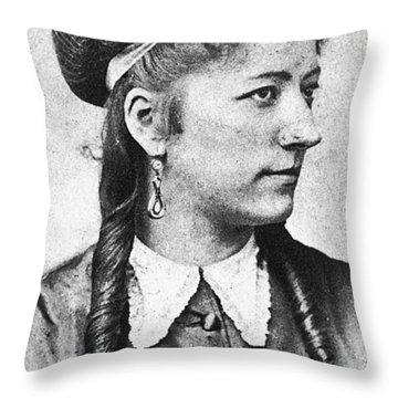Antonietta Pozzoni (1846-1914) Throw Pillow