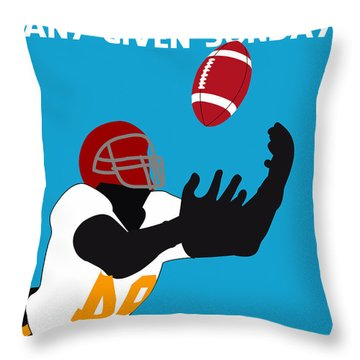 Any Given Sunday Minimalist Movie Poster Throw Pillow