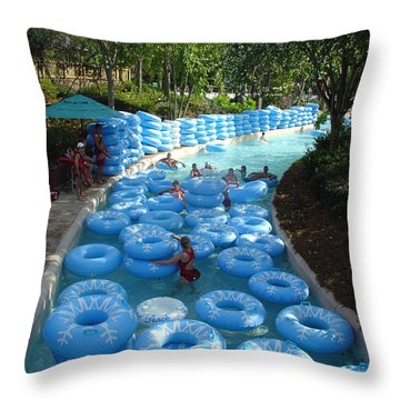 Throw Pillow featuring the photograph Any Spare Tubes by David Nicholls