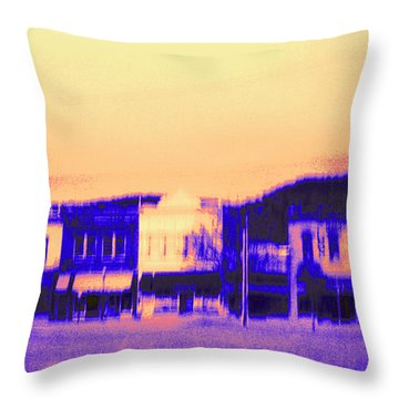 Anytown Evening Throw Pillow