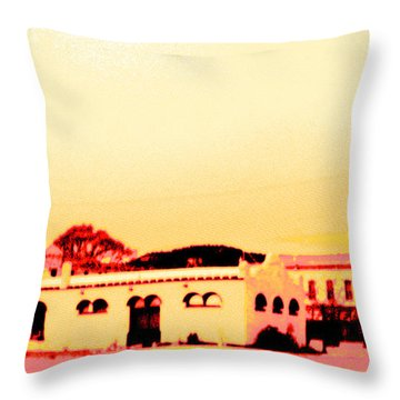 Anytown New Mexico Throw Pillow