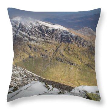 Aonach Beag Throw Pillow