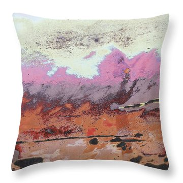 Ap24 O Throw Pillow