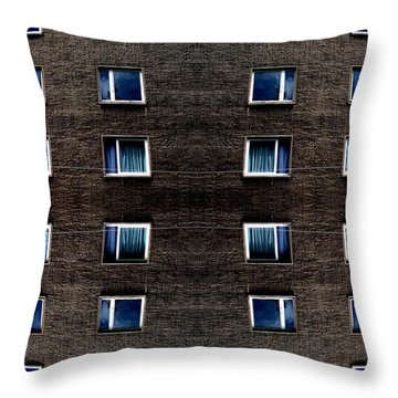 Apartments In Berlin Throw Pillow