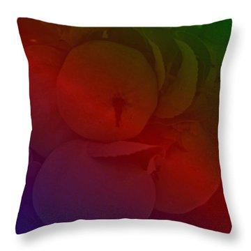 Apfel Throw Pillow by Klaas Hartz