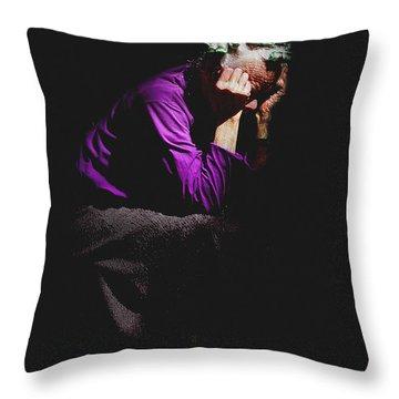 Aphrodite Bound Throw Pillow