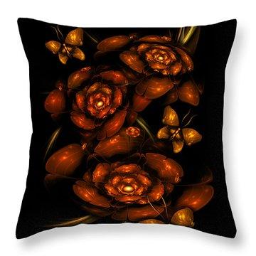 Apo Garden Throw Pillow