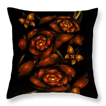 Apo Garden Throw Pillow