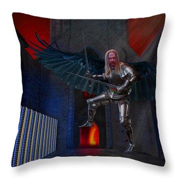 Apocalypsis Throw Pillow