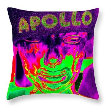 Apollo Abstract Throw Pillow