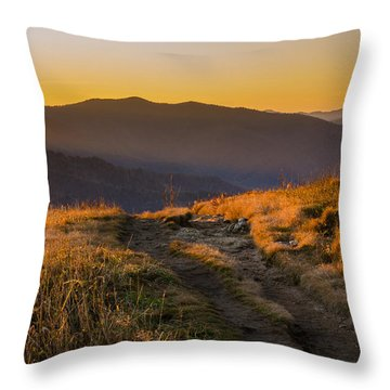 Appalachian Afternoon Throw Pillow by Serge Skiba