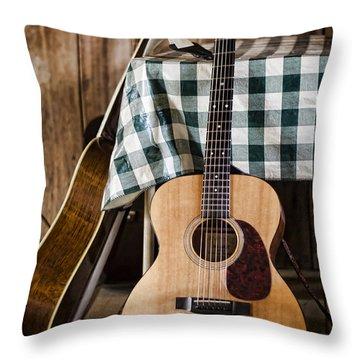 Appalachian Music Throw Pillow