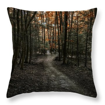 Appalachian Trail Throw Pillow