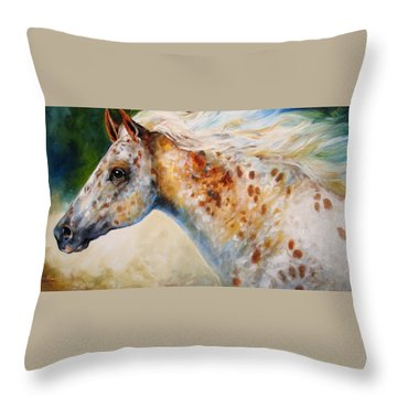 Appaloosa Spirit 3618 Throw Pillow