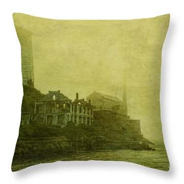 Apparating Horrors Throw Pillow by Andrew Paranavitana