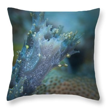 Appendage Throw Pillow by Jean Noren