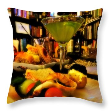 Appetizers Throw Pillow