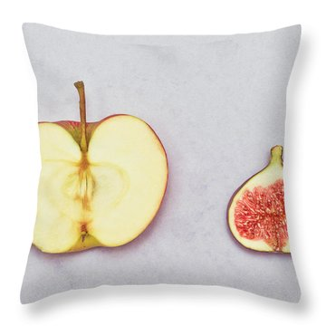 Apple And Fig Throw Pillow