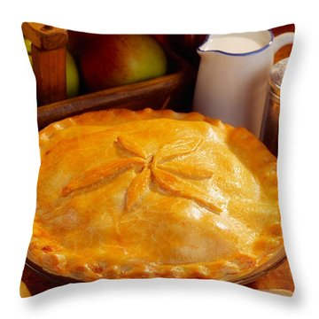 Apple Pie Throw Pillow by The Irish Image Collection
