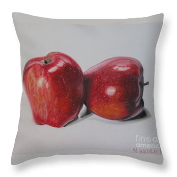 Apple Study Throw Pillow