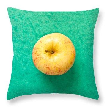 Apple Throw Pillow by Tom Gowanlock
