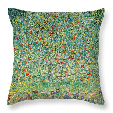 Apple Tree I Throw Pillow