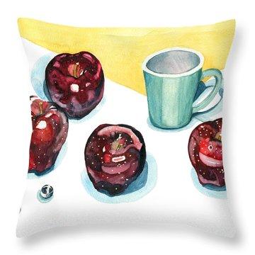 Apples Throw Pillow