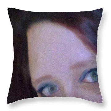 Apprehensive Throw Pillow