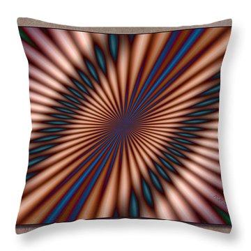 Approaching Light Speed Throw Pillow