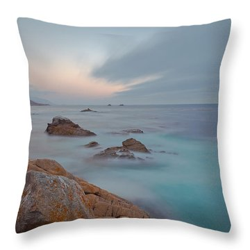 Approaching Storm Throw Pillow by Jonathan Nguyen