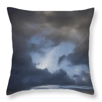 Approaching Storm Throw Pillow by Ron Jones