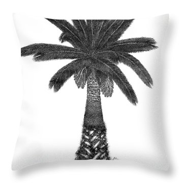 April '12 Throw Pillow