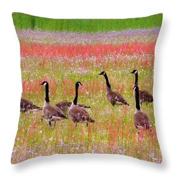 Good Friday Morning Throw Pillow