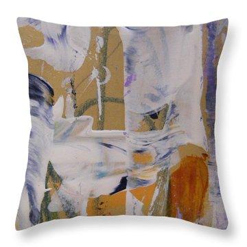 April Showers 2 Throw Pillow by Nancy Kane Chapman