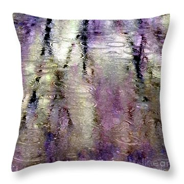 April Showers Throw Pillow
