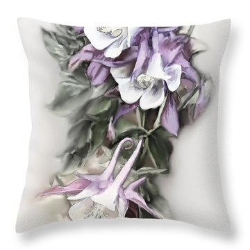 Aqualigia Cascade Throw Pillow