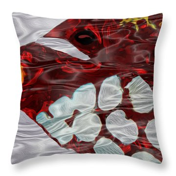 Aquarium 3 Throw Pillow by Jack Zulli
