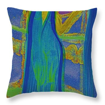 Aquarius By Jrr Throw Pillow by First Star Art