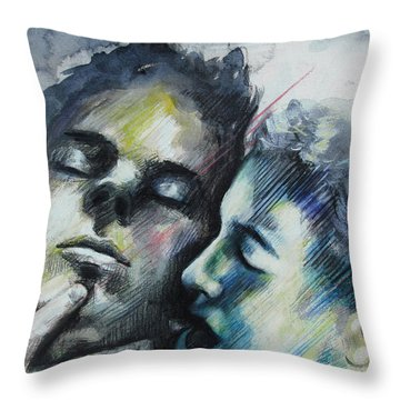 Aquatic Dreams Throw Pillow