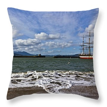 Aquatic Park Throw Pillow