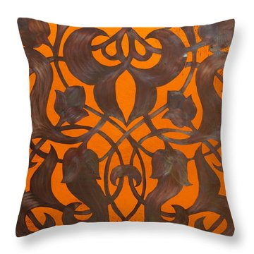 Arabesque Window Passage Throw Pillow