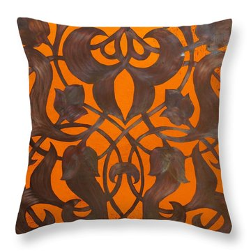 Arabesque Window Passage Throw Pillow