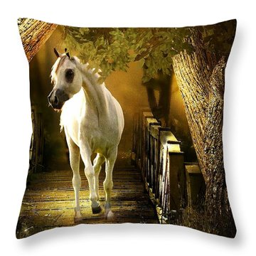 Arabian Dream Throw Pillow