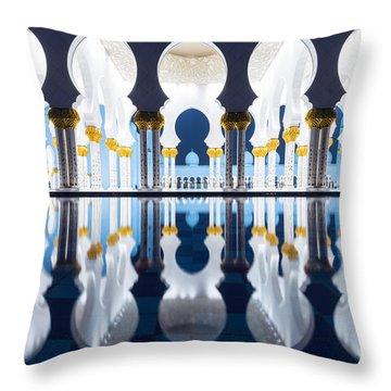 Arabian Nights Throw Pillow by Matteo Colombo