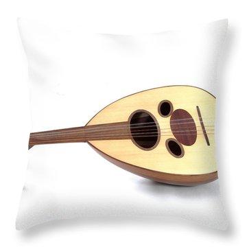 Arabian Oud Throw Pillow