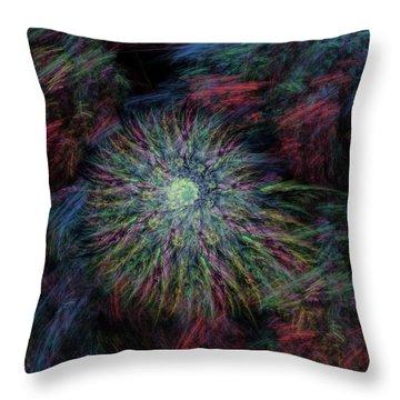 Arachne's Galaxy  Throw Pillow