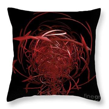 Arachnid By Jammer Throw Pillow by First Star Art